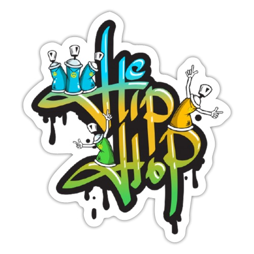Hip Hop Graffiti - Sticker