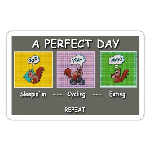 A Perfect Day Halmi - Comic - Sticker