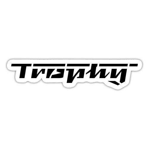 Trophy Schriftzug - Sticker