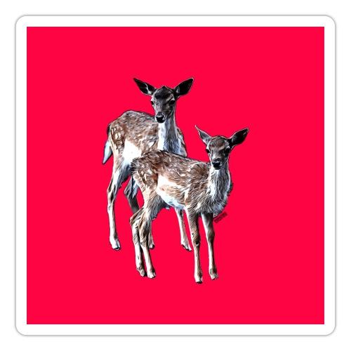 POPIIZERO - THE BAMBIS PINK - Sticker