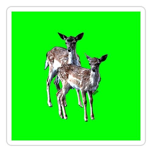 POPIIZERO - THE BAMBIS GREEN - Sticker