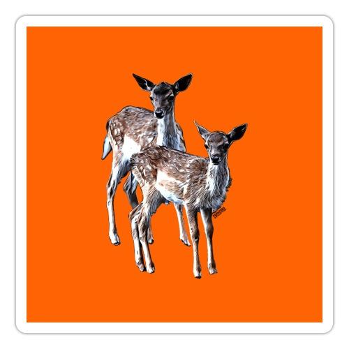 POPIIZERO - THE BAMBIS ORANGE - Sticker