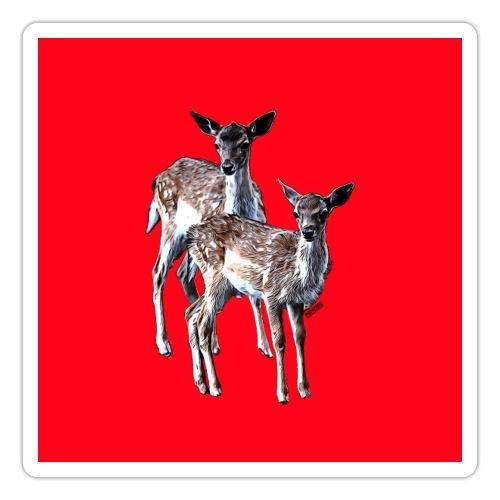 POPIIZERO - THE BAMBIS RED - Sticker