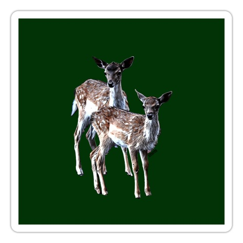 POPIIZERO - THE BAMBIS DEEP FOREST - Sticker