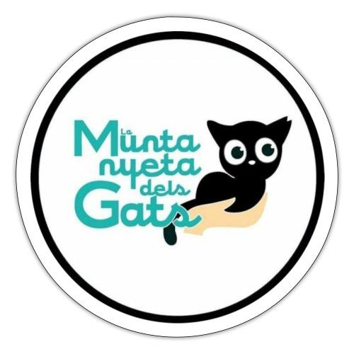 La Muntanyeta dels Gats Logo - Pegatina