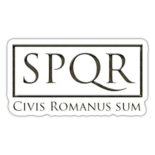 Civis Romanus sum (czarne/black) - Naklejka