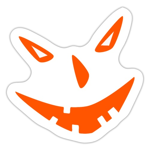 Helloween, Kürbis, Gruselig, Geschenk, 31.10. - Sticker