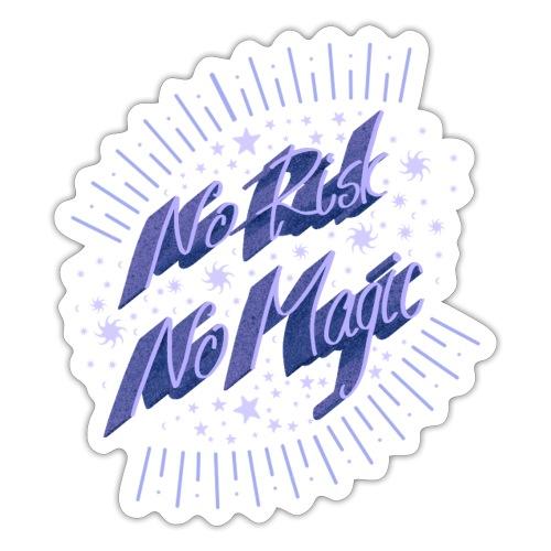 Kein Risiko keine Magie - Sticker