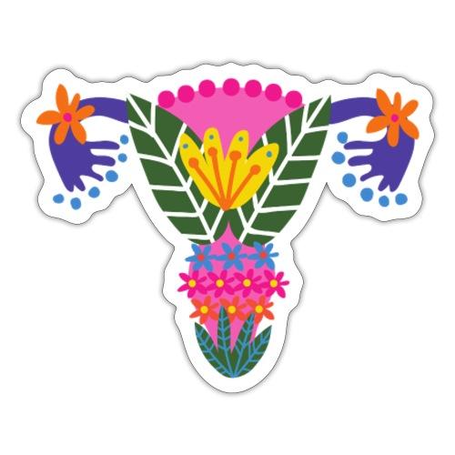 Uterus feminine - Naklejka