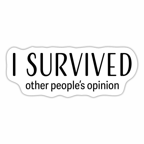 I survived - Sticker