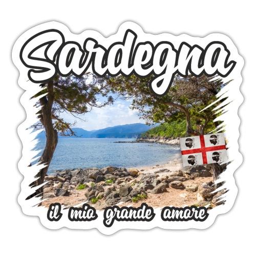 Sardinien Sardinia Sardegna Urlaub Shirt Geschenk - Sticker