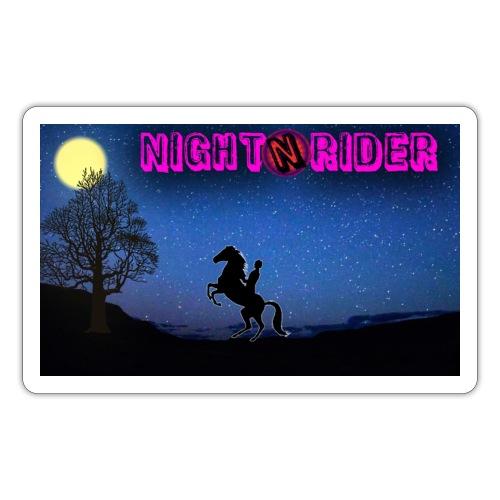 nightrider merch - Sticker