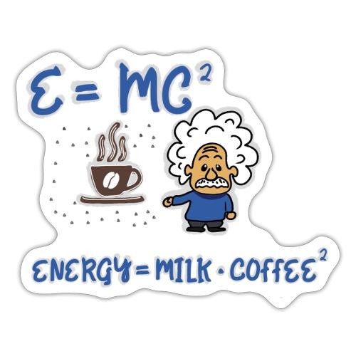 Kaffee - Energie -Milch - Sticker