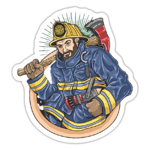 Feuerwehrmann - Sticker