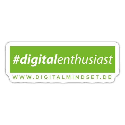 #digitalenthusiast - Sticker