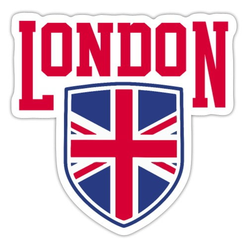 London Souvenir - London Wappen Flagge - Sticker
