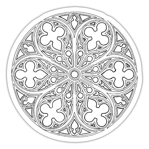 Chthonic-venster - Sticker