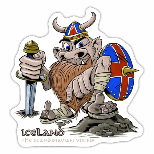 ICELAND ACTION COOL VIKING T SHIRTS AND PRODUCTS - Tarra