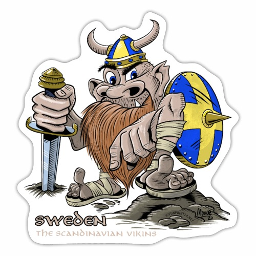 SWEDEN ACTION COOL VIKING T SHIRTS AND PRODUCTS - Tarra