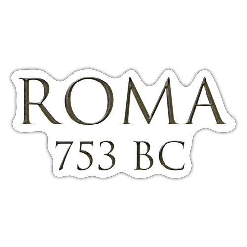 Nadruk Roma (Rzym) | Print Roma (Rome) - Naklejka