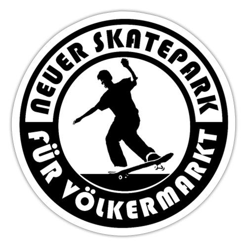 Neuer Skatepark für Völkermarkt Logo - Sticker