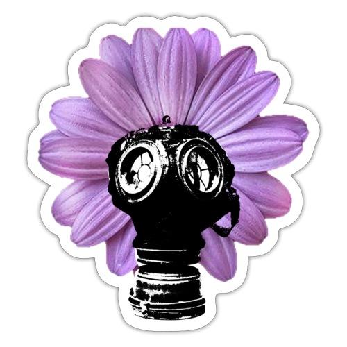 FleurMasque - Autocollant