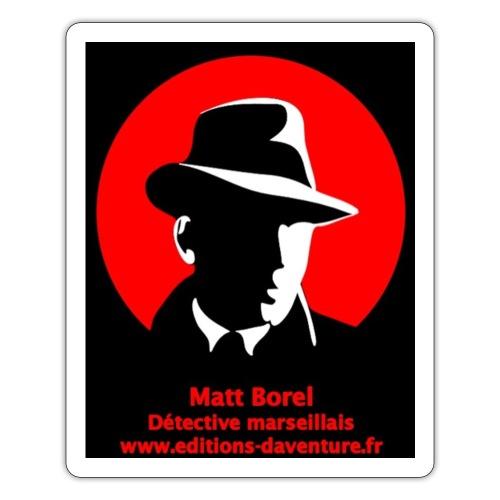 Logo Matt Borel - Autocollant