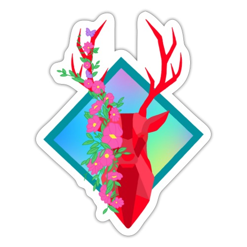 Lovely Deer - Sticker