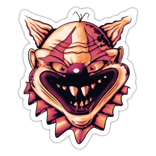 Clown Of The Day - Sticker