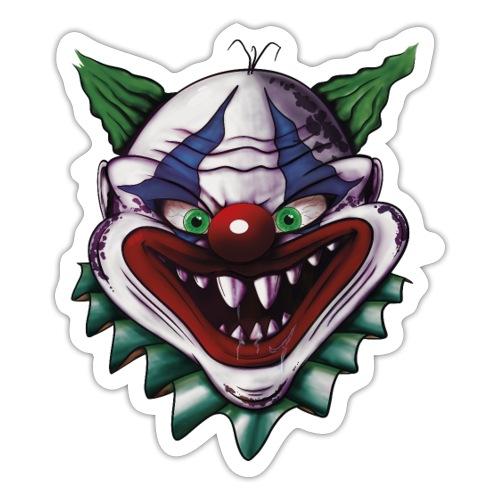 Clown Face - Sticker