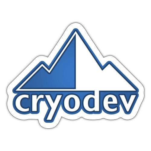 Cryodev Logo - Klistermärke