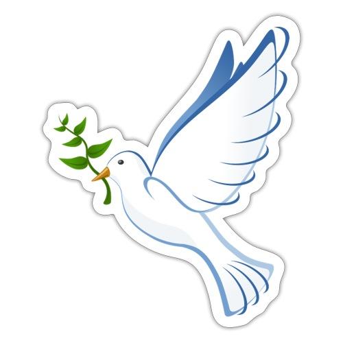 Friedenstaube - Sticker