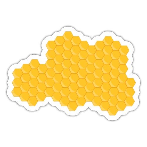 Bienenwabe - Sticker