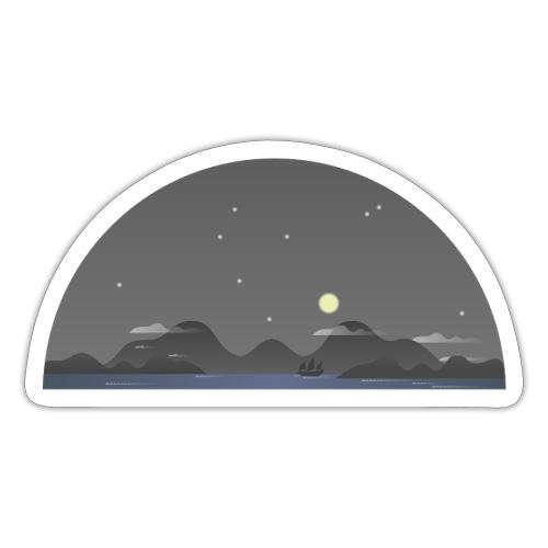 Nachthimmel - Sticker