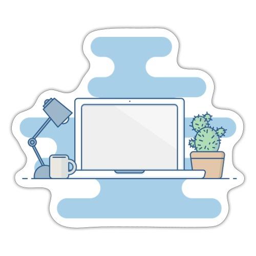 Arbeitstisch - Sticker