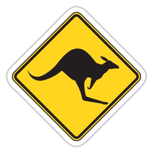 Känguru - Sticker