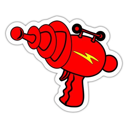 laser gun - Sticker