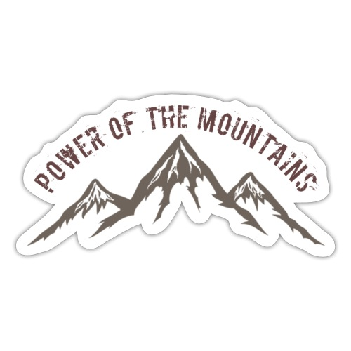 Power of the Mountains - Sticker