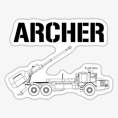 Artillerisystem ARCHER - Klistermärke
