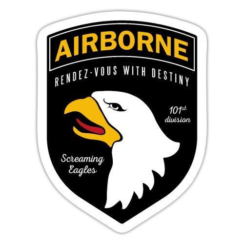 Airborne 101st - Autocollant