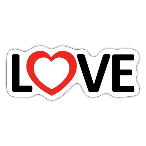Love - Pegatina