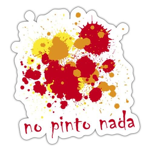 No pinto nada - Pegatina
