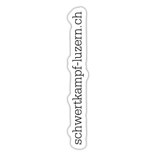 Designe Website senkrecht - Sticker
