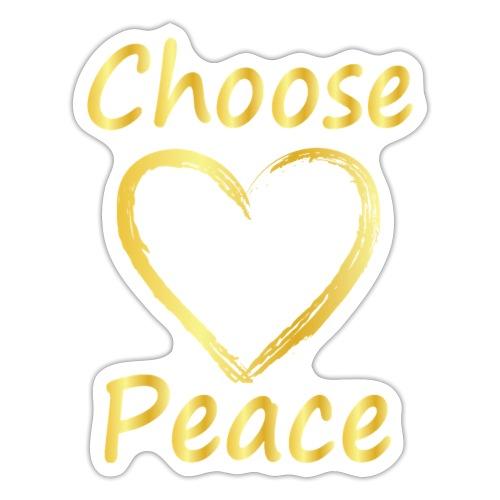 Choose Peace - Sticker