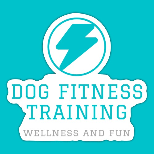 Dog Fitness Training | Wellness and Fun - Adesivo