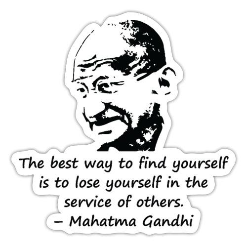 Find Yourself - Sticker