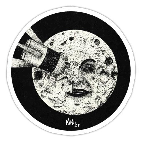 Viaje a la luna (Tributo a George Méliès) - Pegatina