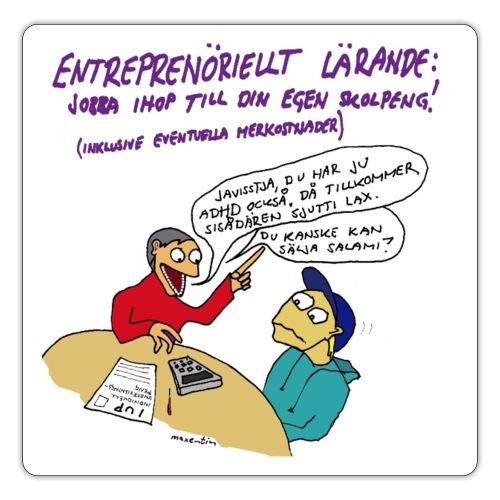 Entreprenöriellt lärande - Klistermärke