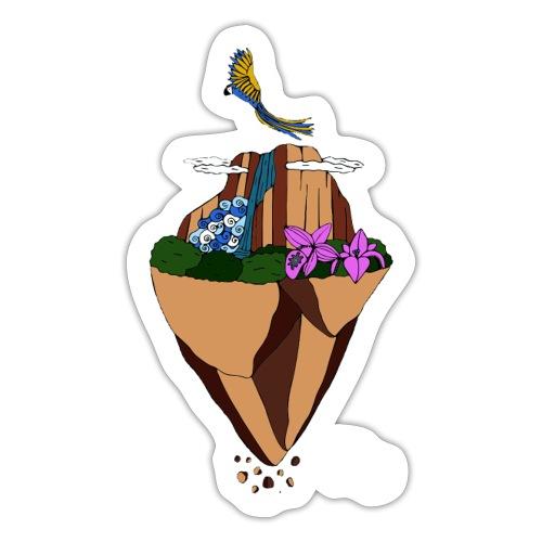 Salto Ángel flotante - Pegatina