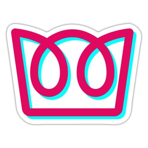Neon Crown - Sticker